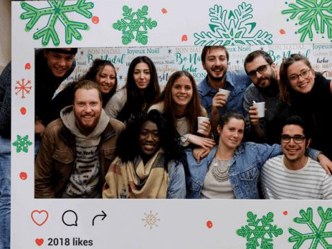 farewell day con alumnos internacionales
