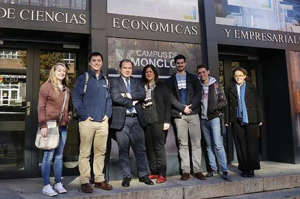 Alumnos de la Universidad de Connecticut se incorporan al CEU