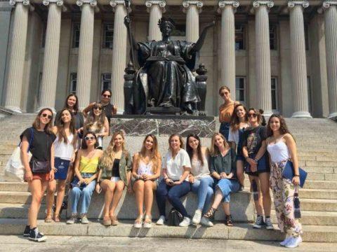 Alumnos CEU en Columbia