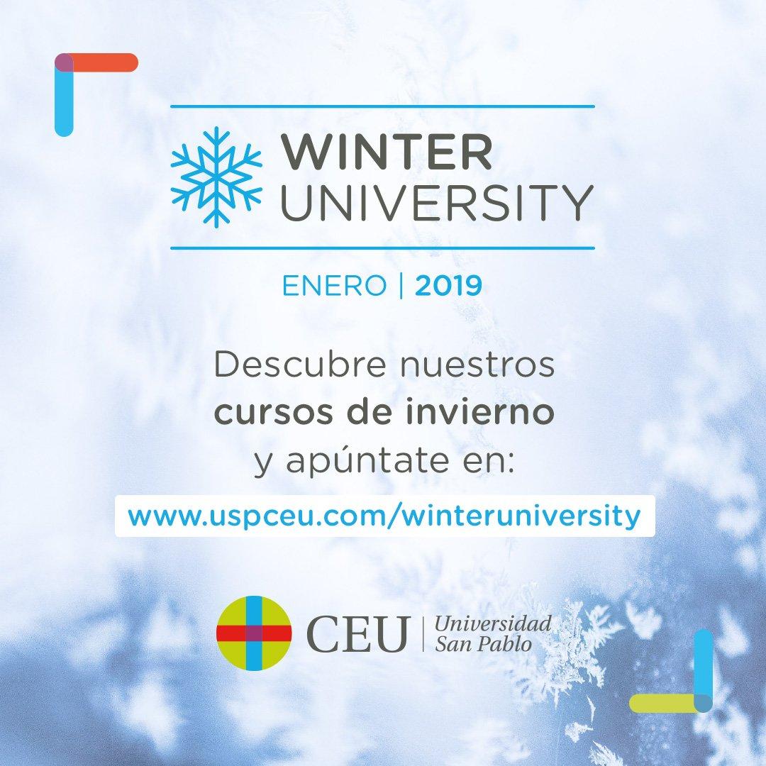 Winter University USP CEU