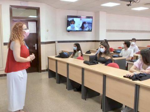 El sistema Hyflex, garantía de presencialidad para nuestros alumnos en el curso 2021/22